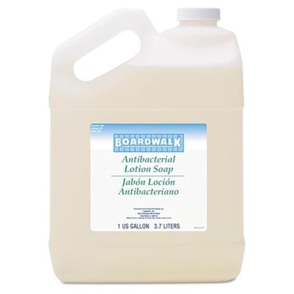 にやにやウィンク憂鬱ボードウォーク430ea抗菌Liquid Soap、花柄Balsam、1ガロンボトル