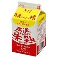 木次 パスチャライズ牛乳 500ml