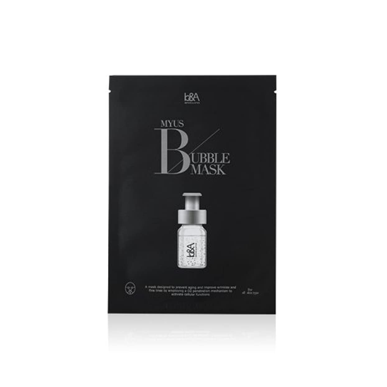 モック磁気磁気BigBang Top [K cosmetic][K beauty] Celeb's-Secret MYUS BUBBLE MASK 5pcs [海外直送品][並行輸入品]