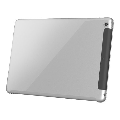 『iBUFFALO iPad mini 3 / iPad mini Retina らくらくハードケース 液晶保護フィルム付 クリア BSIPD713HCR 【曲げても割れない着脱カンタン 新素材「クラリティ」を採用したイージーハードケース】』の2枚目の画像