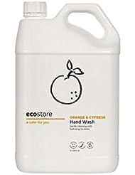 ecostore(エコストア) ハンドウォッシュ 【オレンジ&サイプレス】 大容量 5L 詰め替え用 液体タイプ