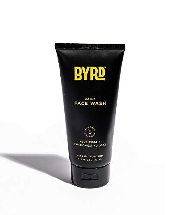 アラーム実験通行料金BYRD/フェイスウォッシュ メンズコスメ 洗顔 天然成分 スッキリ さっぱり