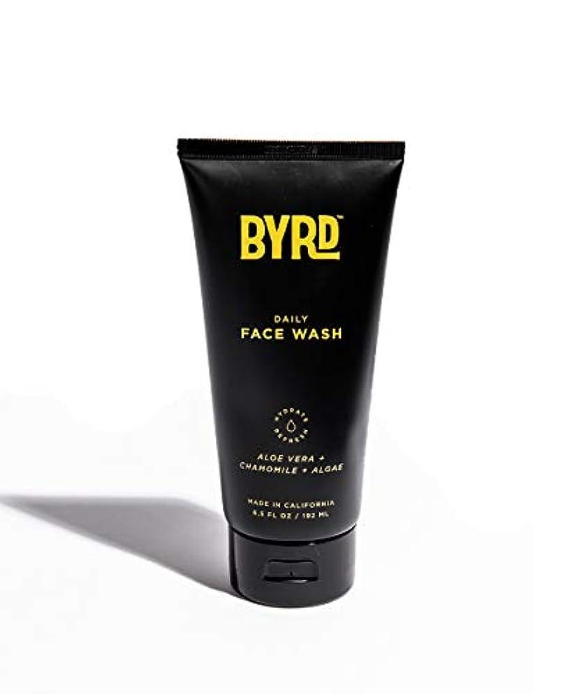 蒸気救出豪華なBYRD/フェイスウォッシュ メンズコスメ 洗顔 天然成分 スッキリ さっぱり