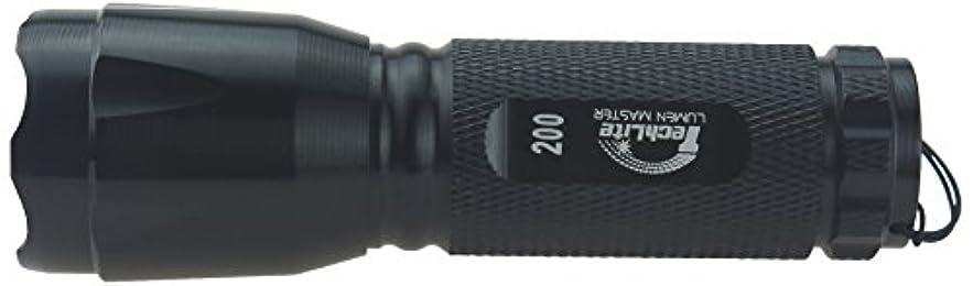 ロッドマイク主張するTechlite(テクライト) LEDフラッシュライト TE118-3AAA-XPG 200ルーメン TE118-3AAA-XPG