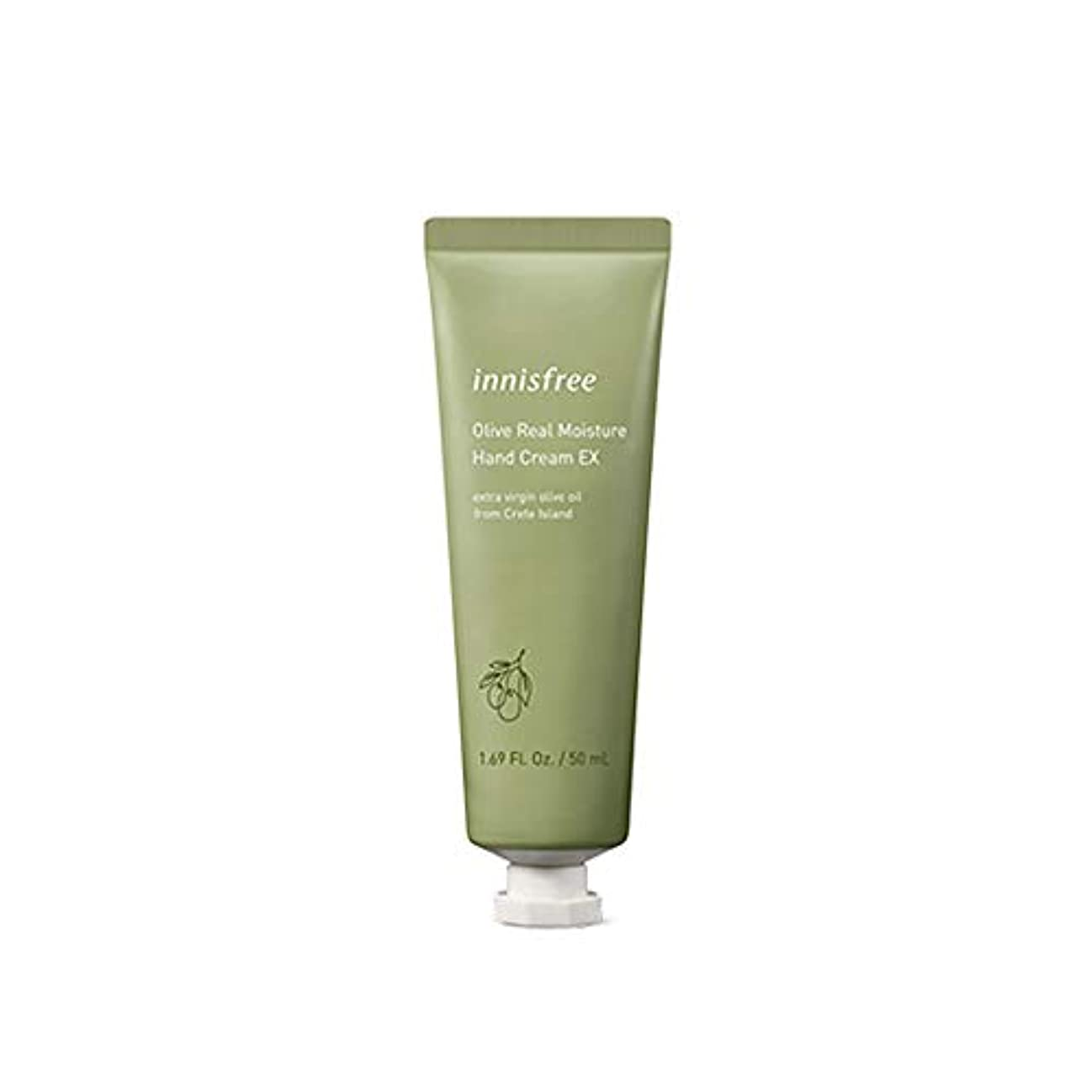 砂利わずかな悩むイニスフリー Innisfree オリーブリアル モイスチャー ハンドクリーム(50ml) Innisfree Olive Real Moisture Hand Cream (50ml) [海外直送品]