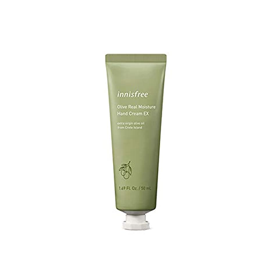 計算する船尾に慣れイニスフリー Innisfree オリーブリアル モイスチャー ハンドクリーム(50ml) Innisfree Olive Real Moisture Hand Cream (50ml) [海外直送品]