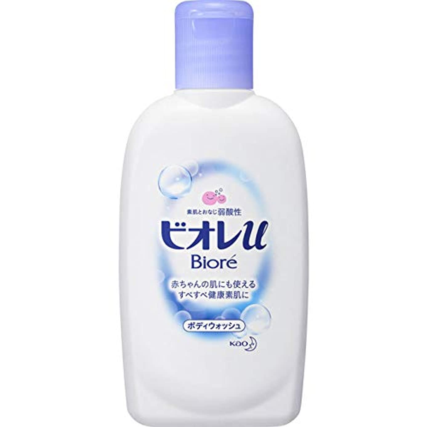 ミネラルリズミカルな接触ビオレu フレッシュフローラルの香り ミニ 90ml