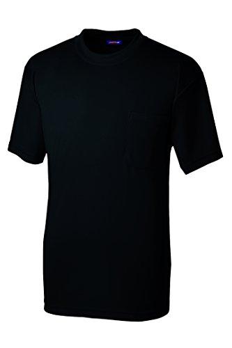 SOWA(ソーワ) 半袖Tシャツ(胸ポケット有り) ブラック LLサイズ 50381