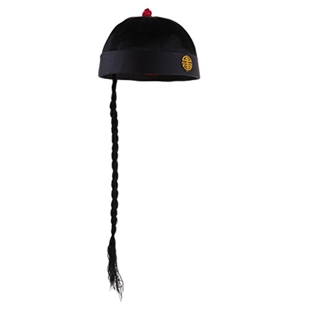 割り当てます多用途アクセサリー大人 子供適用 ハロウィーン 派手な衣装 シルク 帽子 中国 復古 伝統的な コスチューム 全5サイズ - 2-6歳