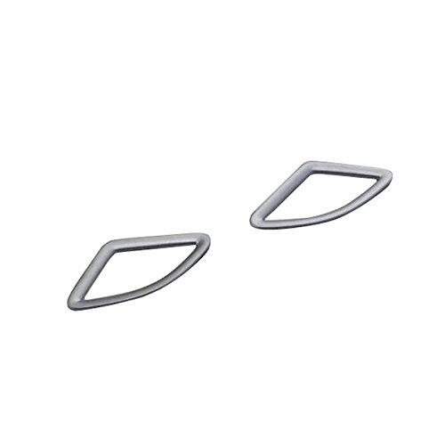 フロント エアコンベント カバー リム 「 BMW X1 F48 2016-2017」に適用 【HIGH FLYING 】