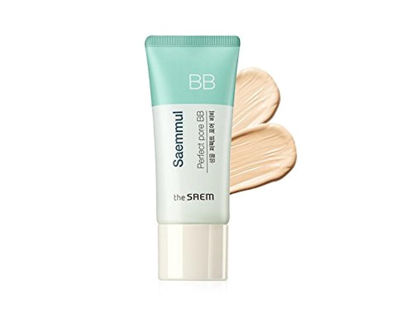 才能のある懲らしめあたりThe Saem Saemmul Perfect Pore BB Cream (Primer + BB) セームセムムルパーフェクトポアBBクリーム(プライマー+ BB)海外直送商品 (#01)