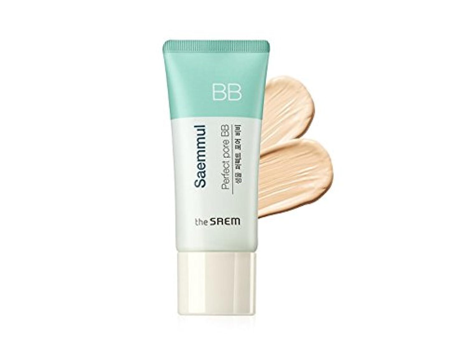 スカーフ裁量要旨The Saem Saemmul Perfect Pore BB Cream (Primer + BB) セームセムムルパーフェクトポアBBクリーム(プライマー+ BB)海外直送商品 (#01)
