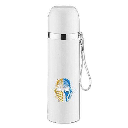 ポータブル 水筒 真空断熱 モータルコンバット 水筒 運動 釣り 大容量 White Size