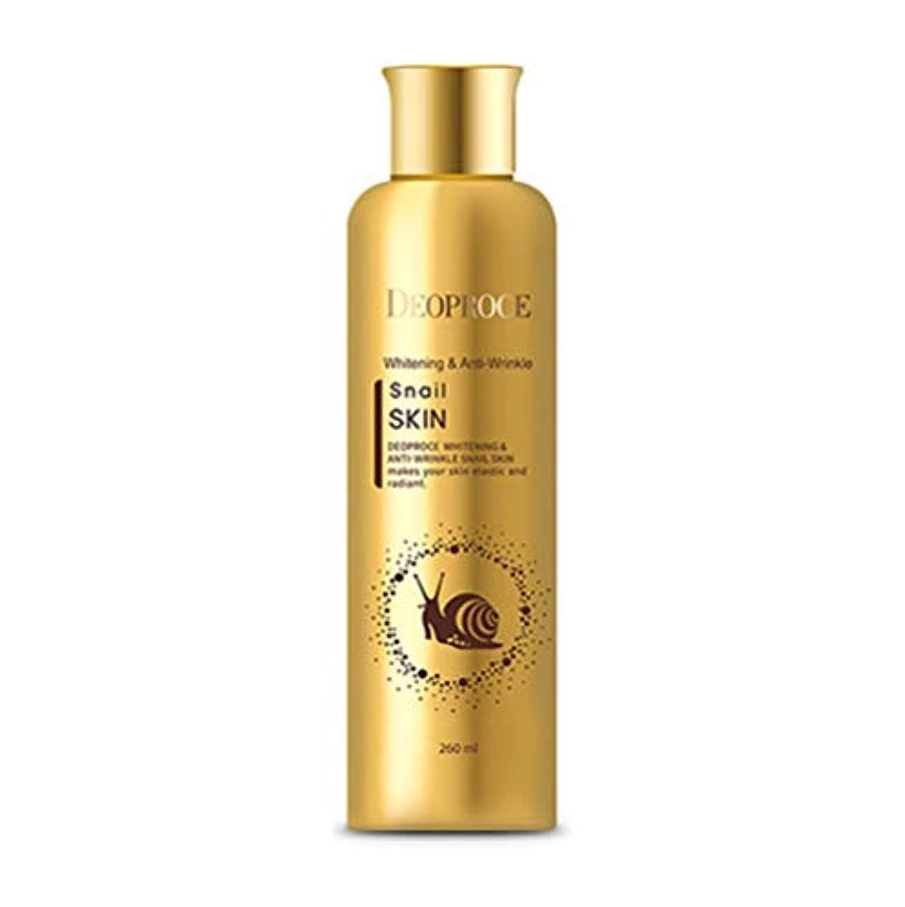 老人無駄に良いDeoproce 韓国化粧品ホワイトニングとアンチリンクルかたつむりスキントナー (260ml) [並行輸入品]