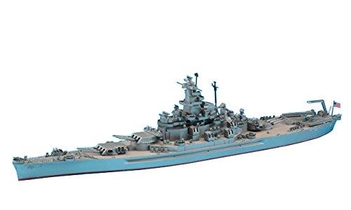 ハセガワ 1/700 ウォーターラインシリーズ アメリカ海軍 戦艦 サウスダコタ プラモデル 607