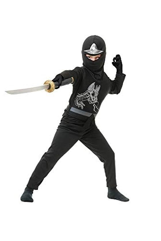 Black Ninja Avengers Series II Toddler/Child Costume ブラックニンジャアベンジャーズシリーズIIの幼児/子供の衣装?ハロウィン?サイズ:X-Large (12/14)