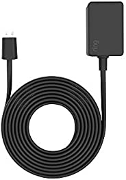 3 meter Power Adaptor for Ring Indoor Cam, Black
