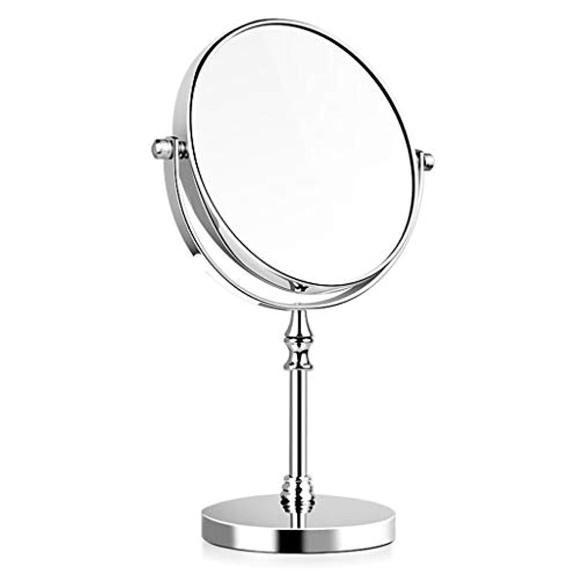 湿度回転する中央値.化粧鏡 化粧鏡大型HD両面デスクトップ化粧鏡化粧鏡3倍倍率360°回転 ED化粧鏡1倍/ 2倍/ 3倍/ 5倍/ 10倍拡大鏡ポ