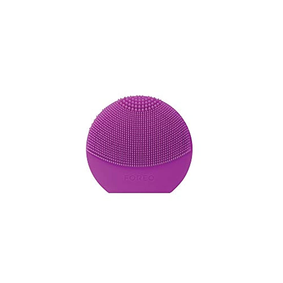友情墓イースターFOREO LUNA Play Plus パープル シリコーン製 音波振動 電動洗顔ブラシ 電池式