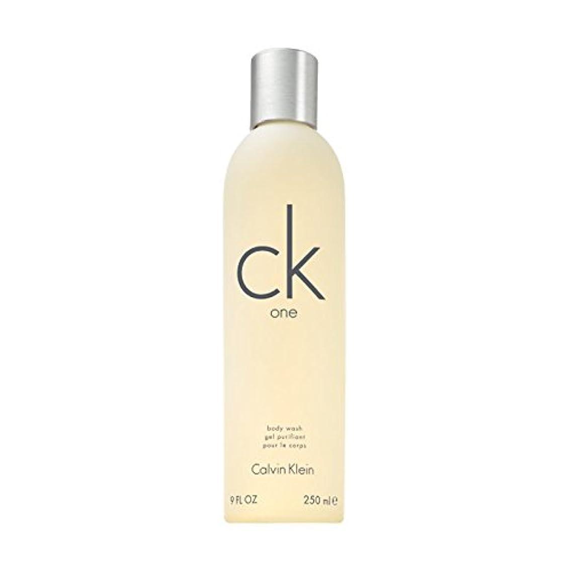 種をまく贅沢においカルバンクライン シーケー ワン ボディウォッシュ 250ml CALVIN KLEIN CK-ONE BODY WASH [並行輸入品]