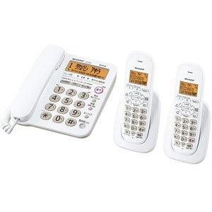 シャープ デジタルコードレス電話機 子機2台 JD-G32CW