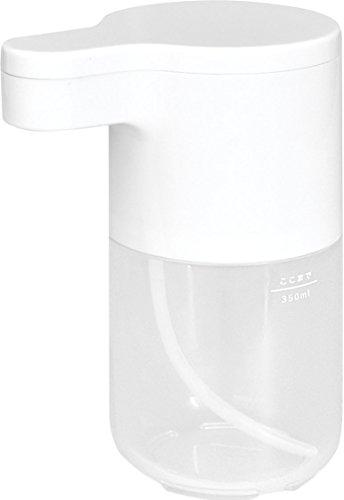 RoomClip商品情報 - dretec(ドリテック) ソープディスペンサー 泡 自動 ハンドソープ 手洗い センサー キッチン バスルーム 洗面所用 SD-907WT(ホワイト)