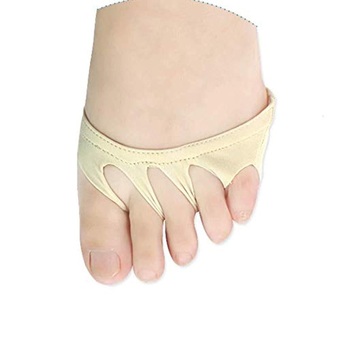 可能性大使打倒つま先セパレーター、つま先外反矯正のつま先セパレーターは、痛みを和らげるために親指を使用して外反母hallに毎日適用されます