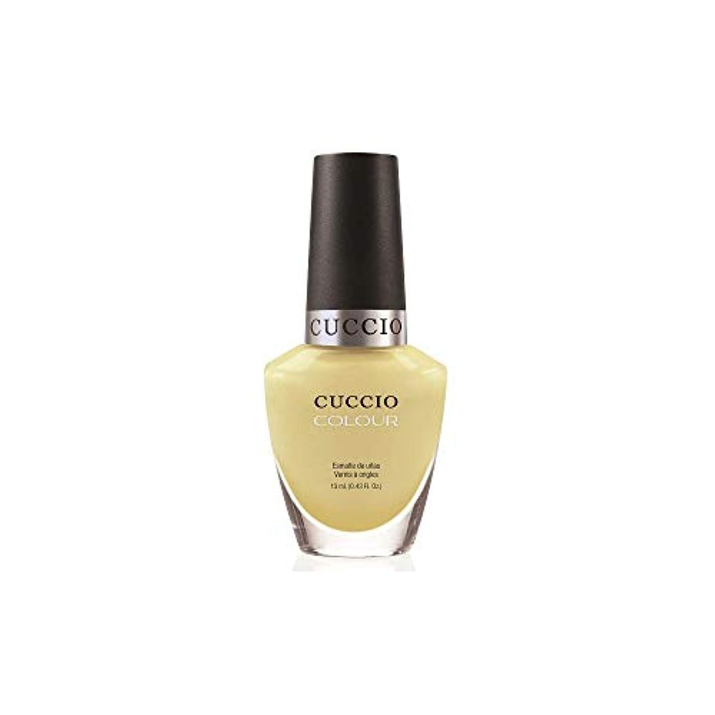 泥議会処理Cuccio Colour Gloss Lacquer - Mojito - 0.43oz / 13ml