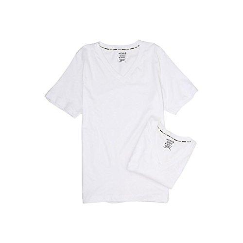 (ジョッキー) Jockey メンズ トップス 半袖シャツ Tシャツ Cotton Staycool V-Neck T-Shirt 2-Pack 並行輸入品