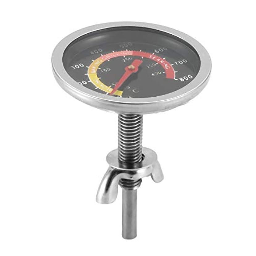 未満機関自発ステンレスオーブン炊飯器温度計ゲージオーブン温度計バーベキューグリルキッチンTermometro Cozinha電子調理器具(色:シルバー)
