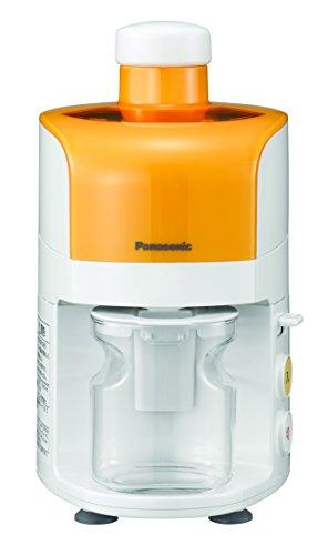 パナソニック ジューサー  オレンジ MJ-M12-D