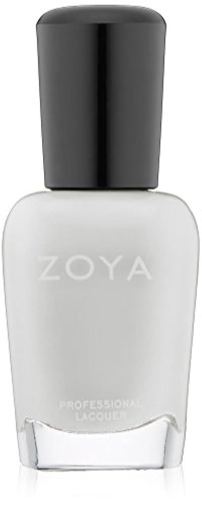 ZOYA ネイルカラーZP114 SNOW WHITE スノーホワイト 15ml 光を集めた雪のようなホワイト シアー/クリーム 爪にやさしいネイルラッカーマニキュア
