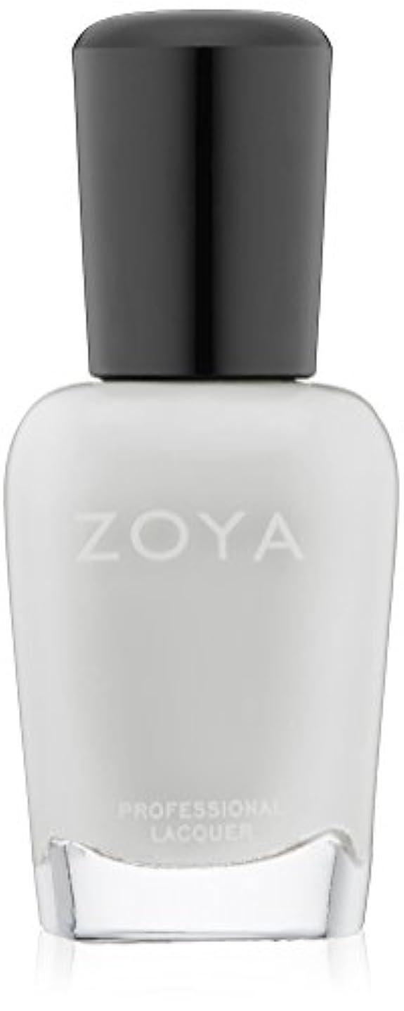祖先カラス酒ZOYA ネイルカラーZP114 SNOW WHITE スノーホワイト 15ml 光を集めた雪のようなホワイト シアー/クリーム 爪にやさしいネイルラッカーマニキュア