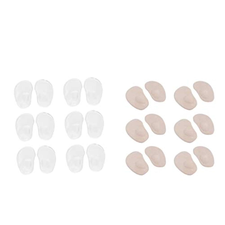 dailymall インソール 女性用 つま先 足裏保護パッド 靴ずれ防止パッド 柔らかい つま先ジェルクッション