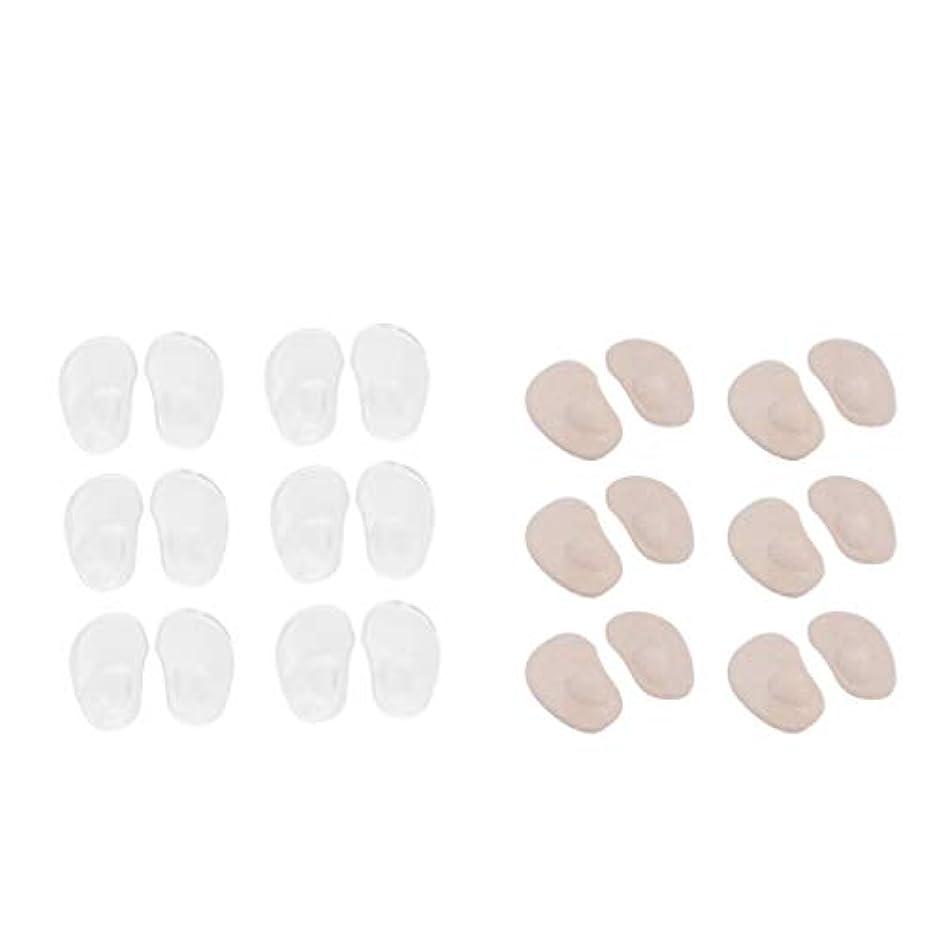 シネウィ経験者慢性的chiwanji 足裏保護パッド つま先保護カバー インソール前ズレ防止 中足パッド ジェルパッド クッション