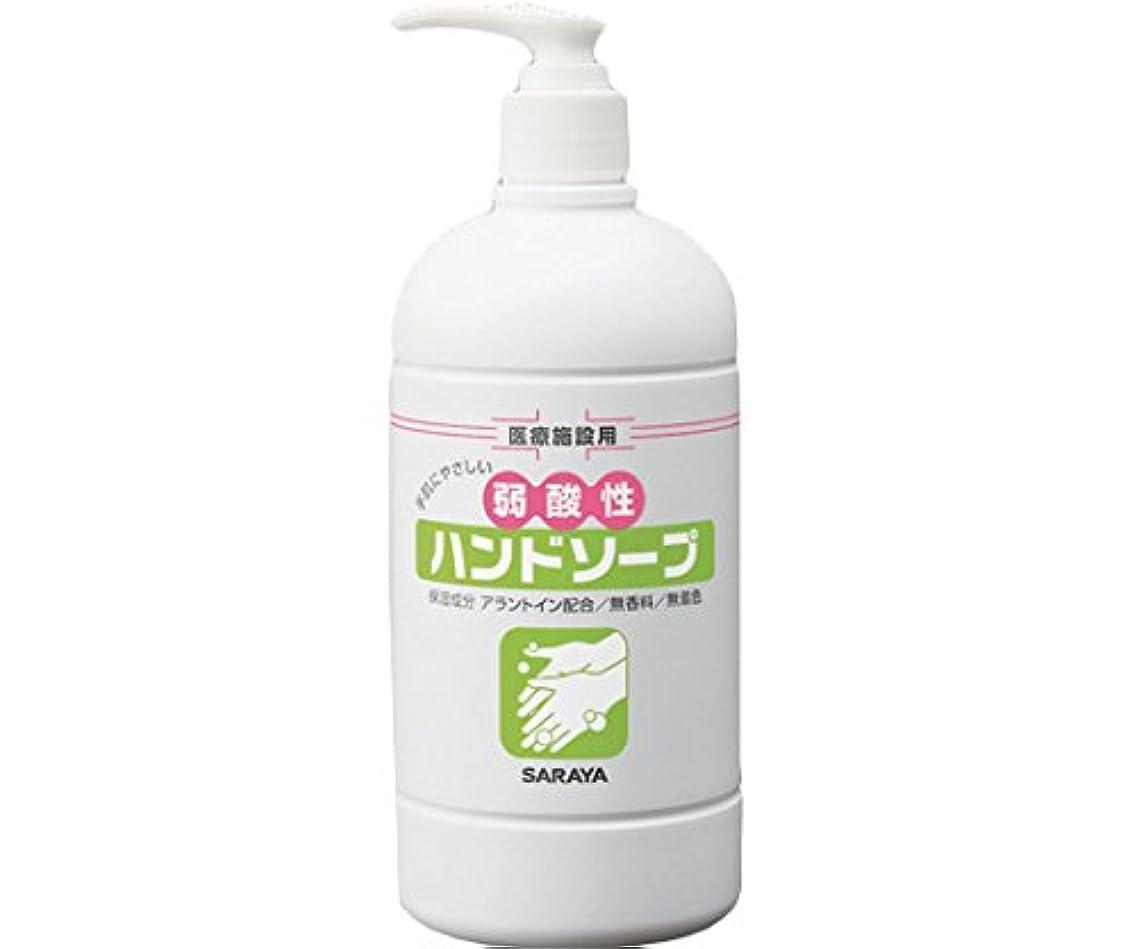 審判多様体花瓶サラヤ 弱酸性ハンドソープ ポンプ付き 23401 /8-8044-01