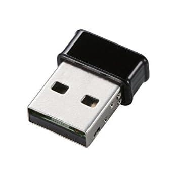 【2013年モデル】ELECOM 無線LAN 子機 433Mbps 11ac ブラック WDC-433SU2MBK