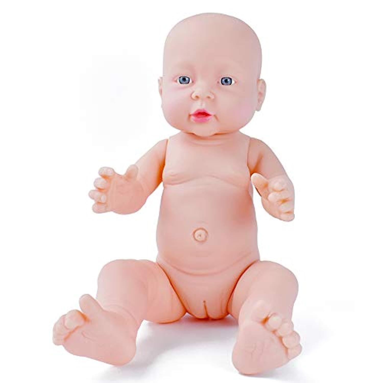 HiPlay ベビー ドール 新生児 赤ちゃん リアル 人形 モデル 模型 子供のおもちゃ ベビーケア トレーニング 『妊婦?育児?産科?教育』等身大 40cm (女の子)