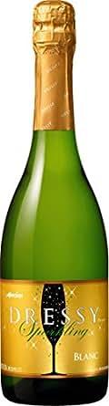 メルシャン スパークリングワイン ドレッシー 白 720ml [日本/スパークリングワイン/甘口/ミディアムボディ/1本]