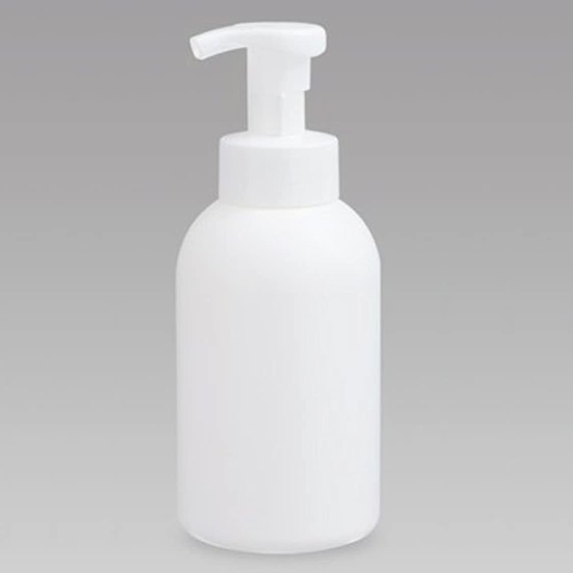平衡聖職者結果泡ボトル 泡ポンプボトル 500mL(PE) ホワイト 詰め替え 詰替 泡ハンドソープ 全身石鹸 ボディソープ 洗顔フォーム