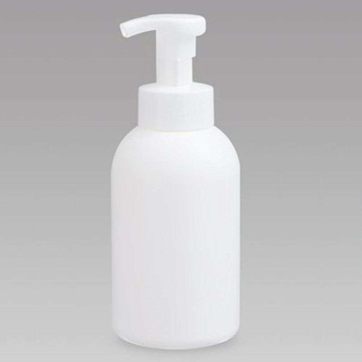欠如隙間どう?泡ボトル 泡ポンプボトル 500mL(PE) ホワイト 詰め替え 詰替 泡ハンドソープ 全身石鹸 ボディソープ 洗顔フォーム