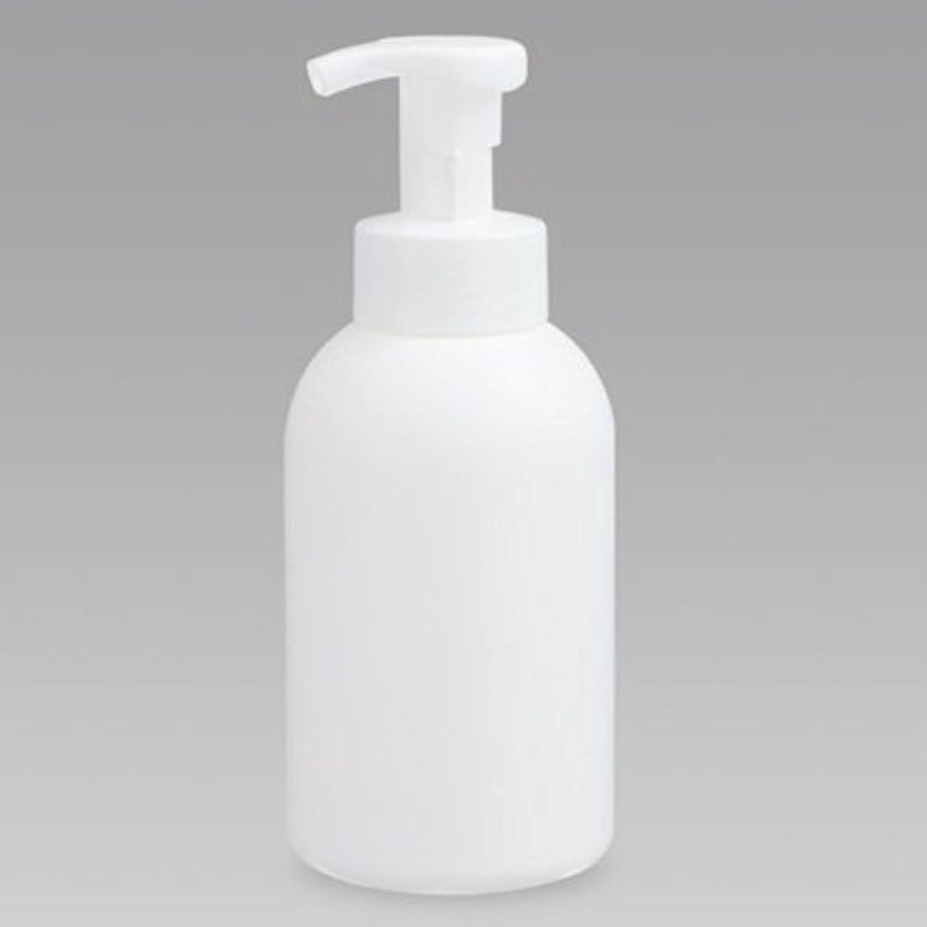 ぴったりボンドふざけた泡ボトル 泡ポンプボトル 500mL(PE) ホワイト 詰め替え 詰替 泡ハンドソープ 全身石鹸 ボディソープ 洗顔フォーム