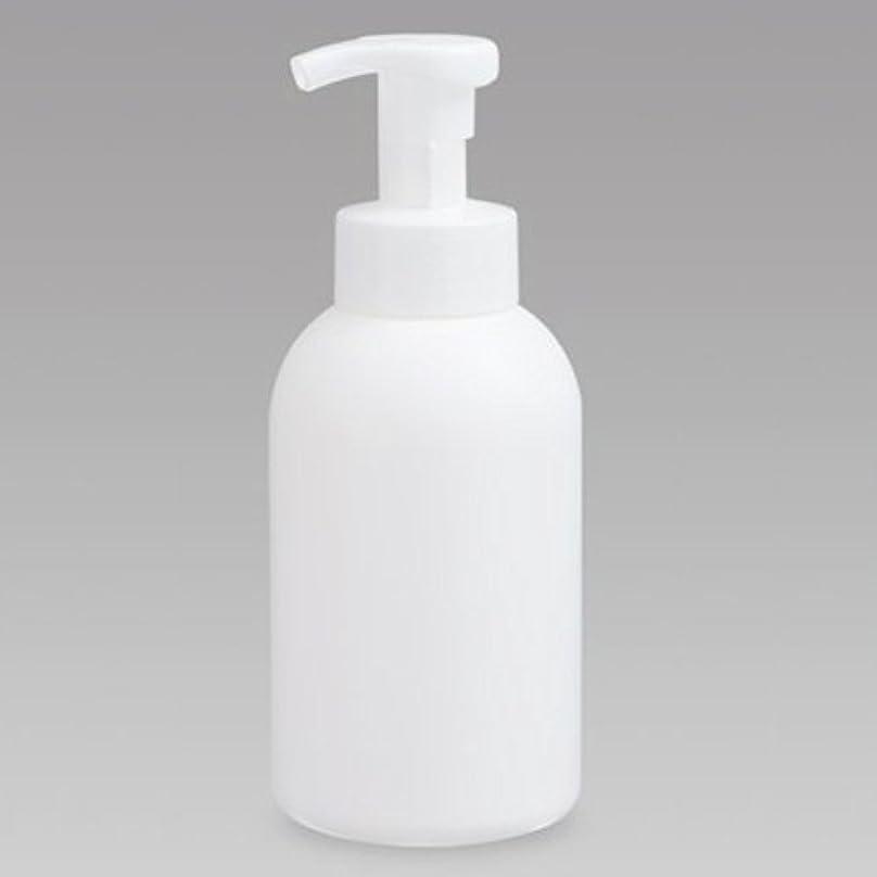 有益忠実に不公平泡ボトル 泡ポンプボトル 500mL(PE) ホワイト 詰め替え 詰替 泡ハンドソープ 全身石鹸 ボディソープ 洗顔フォーム