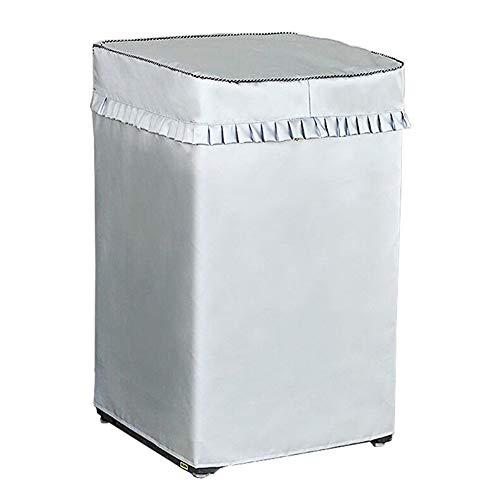 カバー Joinvalue 防水 日焼け 汚れ防止 洗濯機長持ち 屋外 日光 紫外線 雨風 ホコリ に強い 洗濯機を守る ベルクロタイプ (52x54x88 3-5KG)
