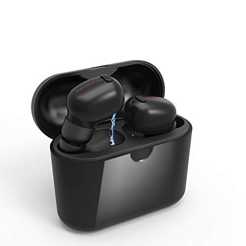 GoNovate ワイヤレス イヤホン Bluetooth 5.0 自動ペアリング ブルートゥース 3.2g/両耳通話/Siri/IPX4防水