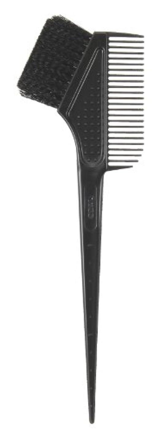 困惑スペル公平なヘアダイ ブラシ&コーム 2個セット