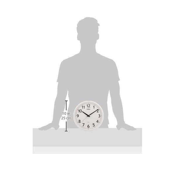 カシオ アナログ掛時計 IQ-58-7JFの紹介画像4