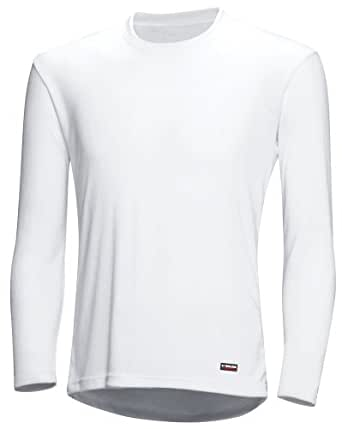 (パールイズミ)PEARL IZUMI メンズ ロビロン アンダー ロングスリーブ 130 5 ホワイト M