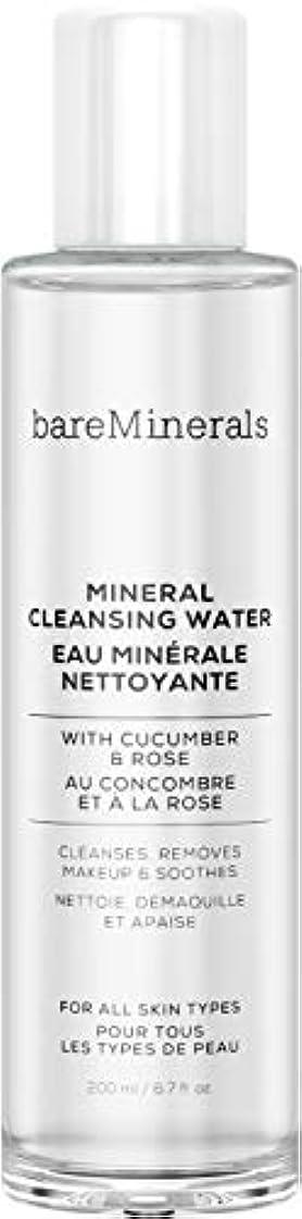 包囲記念品集中的なベアミネラル Mineral Cleansing Water with Cucumber & Rose 200ml/6.7oz並行輸入品