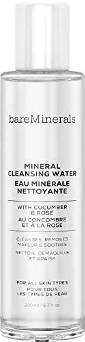 空いている増強名目上のベアミネラル Mineral Cleansing Water with Cucumber & Rose 200ml/6.7oz並行輸入品